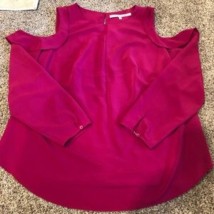 Gorgeous magenta Rachel by Rachel Roy Blouse - 2X